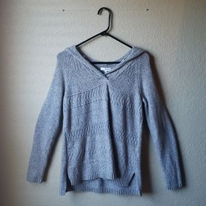 Sonoma size S gray soft hooded sweater